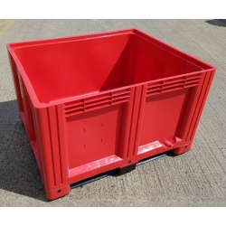 plastic pallet box red 1691c3