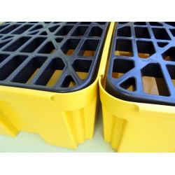 Budget Polyethylene Sump Pallets joined