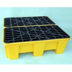 Budget Polyethylene Sump Pallets joined on long side