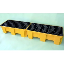 Budget Polyethylene Sump Pallets joined on short side