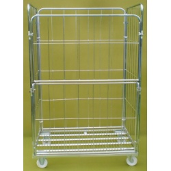4 Sided roll pallete demountable jumbo cage