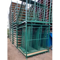 large stacking post pallet - used post pallet - removable sides