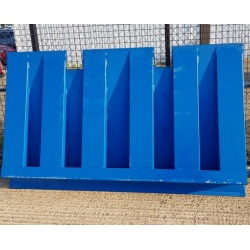 6 ton Shipping Container Ramp for Forklift Truck underneath