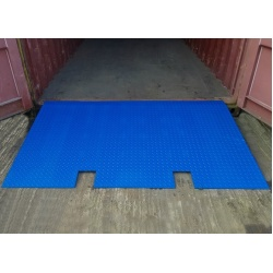 6 ton Shipping Container Ramp for Forklift Truck