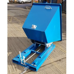 TS60 Tipping Skip for Fork Lifts tipped