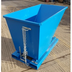 TS60 Tipping Skip for Fork Lifts lever lock