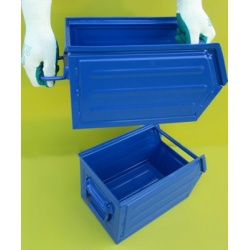 Chute Fronted Picking Bin Lifting Handle