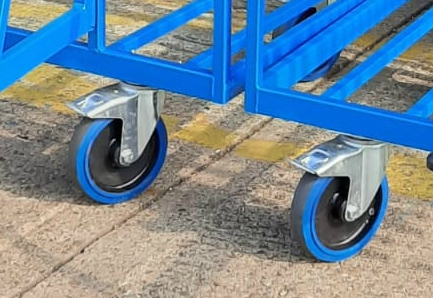 heavy duty rubber wheels for step platform