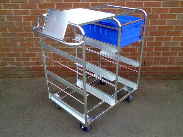Bespoke Custom E commerce picking trolley
