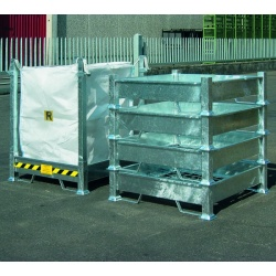 Bulk Bag Holders and FIBC Rack Stands