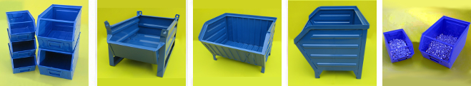Picture of Chute Front Picking Bins & Tote Pans