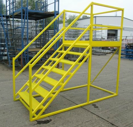 Bespoke Custom heavy duty mobile step