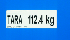 Stillage label