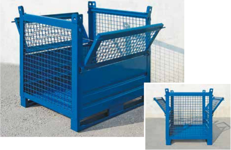 Picture of Stillages with half drop fronts