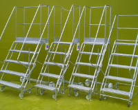 5 Step Galvanized Steps