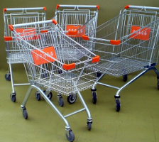 Assorted Shopping Trolleys