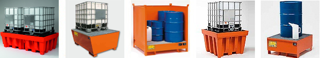 Image of Spill Pallets and Sump Trays