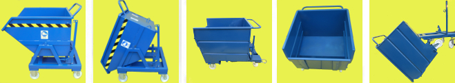 Tipping Skips and Dump Bins in Stock