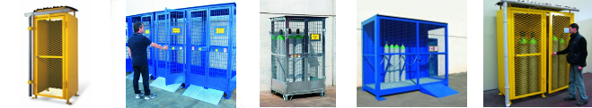 Picture of Gas Cylinder Storage Cages